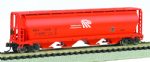 Bachmann 19156 Canadian 4-Bay Grain Hopper Potash Corporation